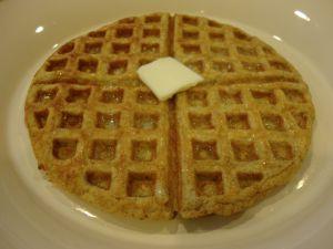 2 eggs, beaten until fluffy 1/4 cup Ricotta Cheese 4-6 drops stevia 1/2 tsp. Baking Powder 1/4 tsp. Cinnamon 1/8 tsp. Nutmeg