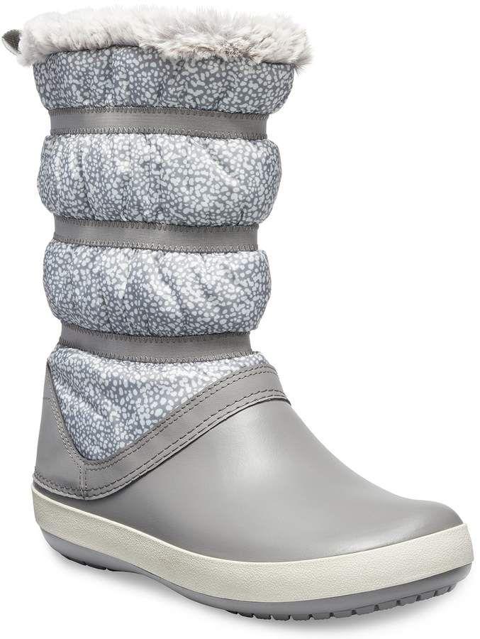 6aaa0c78f82 Crocs Crocband Women's Water Resistant Winter Boots in 2019 ...
