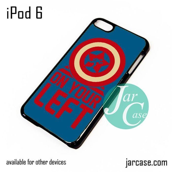 On your left captain america 3 iPod Case For iPod 5 and iPod 6