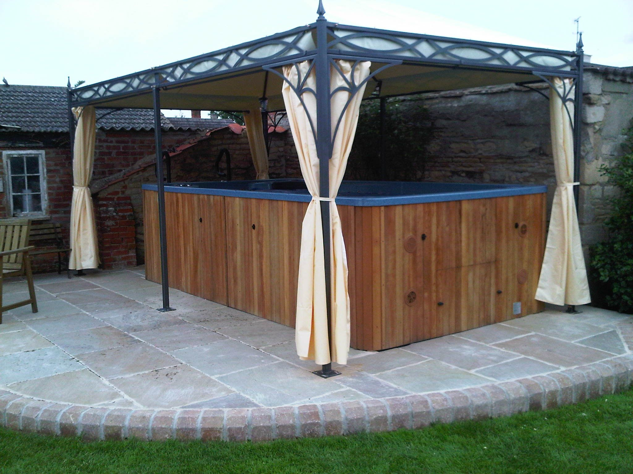 gazebo kits Metal Gazebo Kits Pinterest