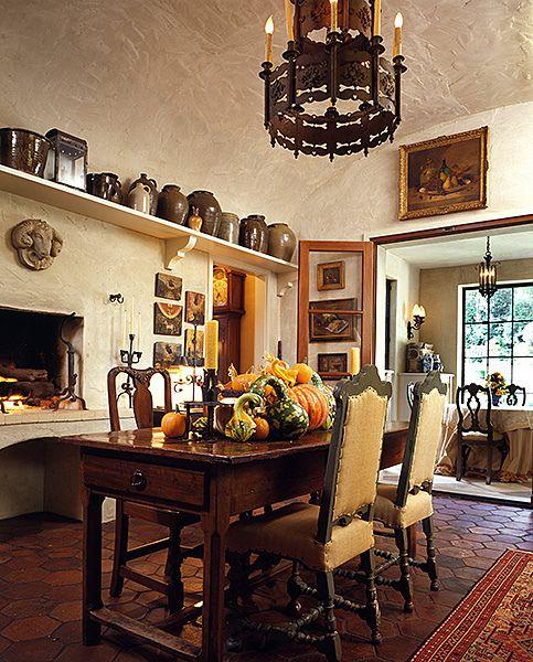Italian Kitchen By Norman Askins, Atlanta Architect