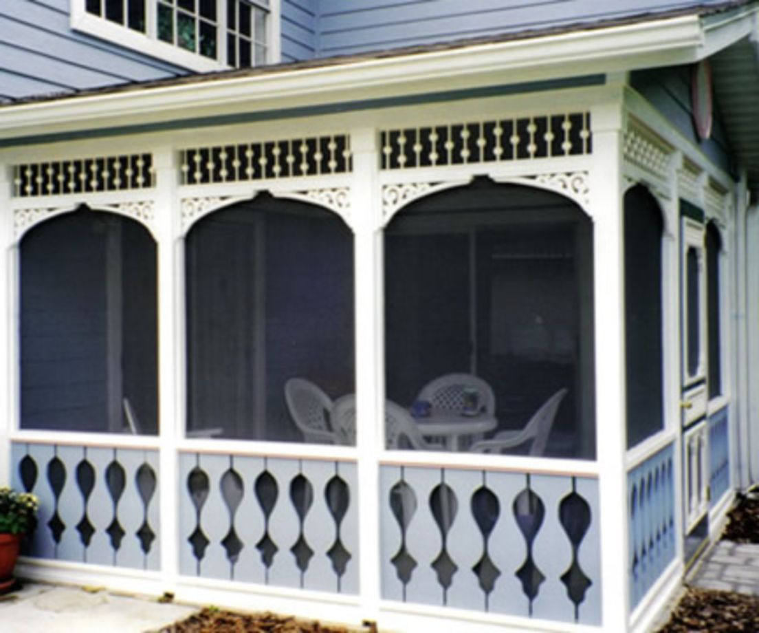 100 Clever Farmhouse Porch Railing Ideas