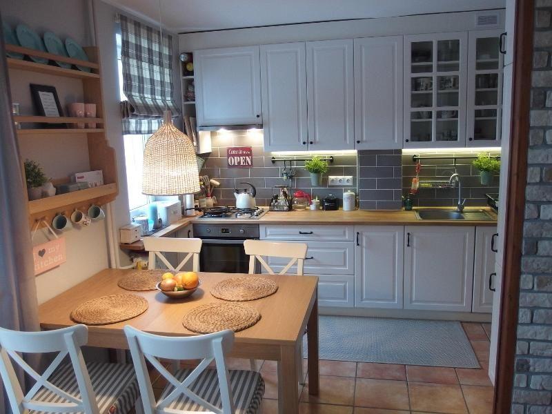Kuchnia Kuchnia I Jadalnia Forum I Wasze Wnetrza Leroy Merlin Trendy Farmhouse Kitchen Kitchen Interior Home Kitchens