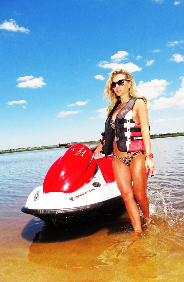 Personal watercraft bikinis