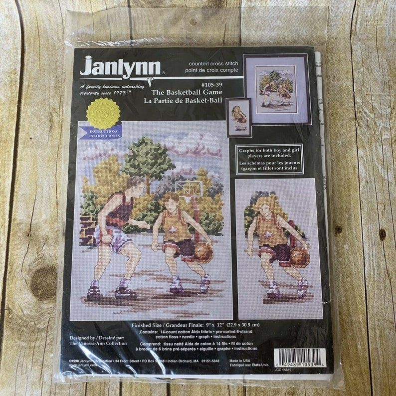 Janlynn Oriental Lady Counted Cross Stitch Kit Designs For The Needle sealed