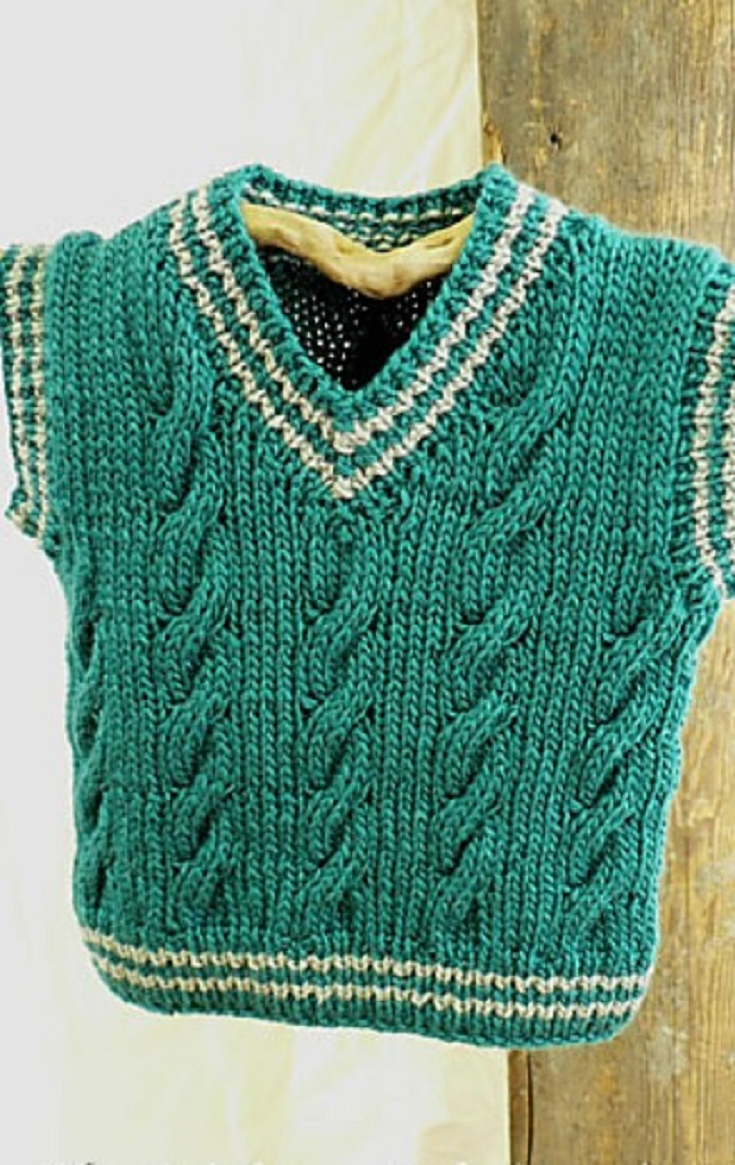 Knitting Pattern for Little Girls Pretty Argyll Jumpers Very Sweet Double Knit