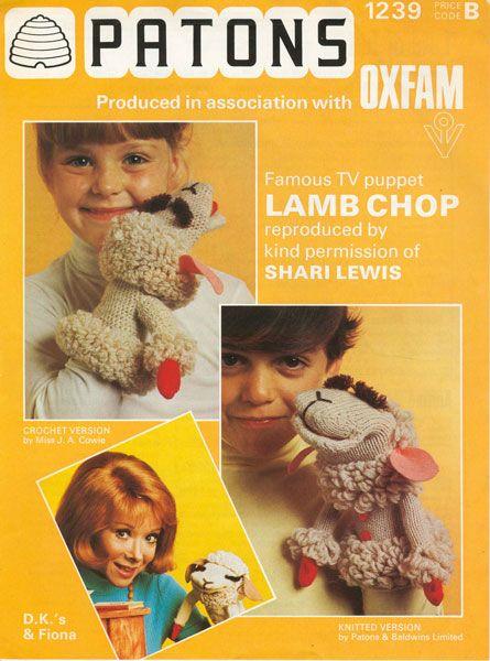 vintage toy lamb chop knitting pattern www ...