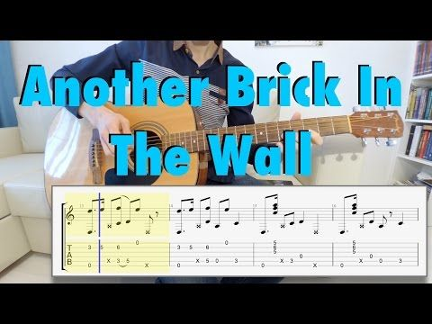 Pink Floyd Another Brick In The Wall Fingerstyle Guitar Cover