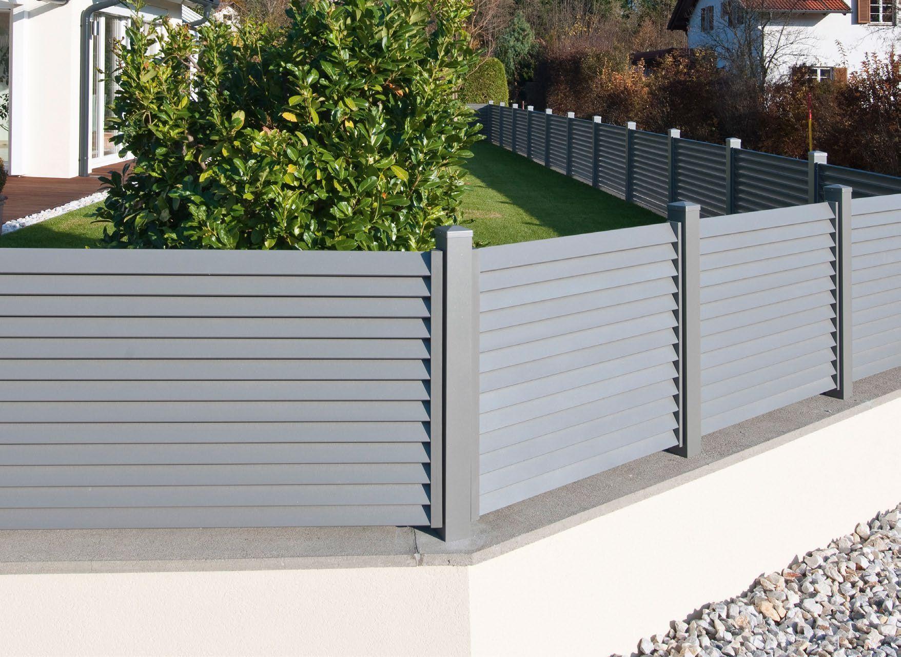 Zaun Aus Aluminium Aluzaun Recinzioni Progettazione Recinzione