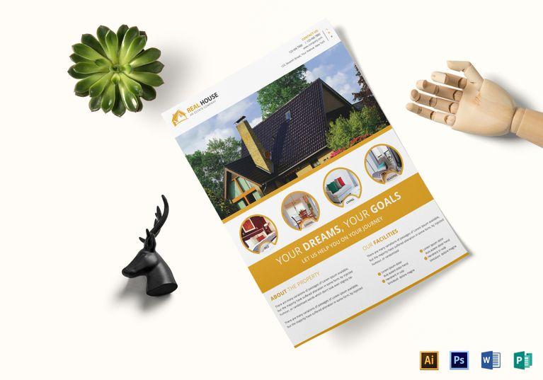 Commercial Real Estate Flyer Template Design Flyer Templates - fashion design brochure template