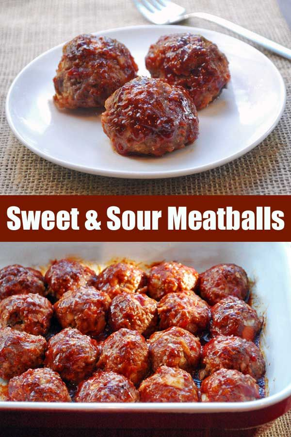 Photo of Sweet and Sour Meatballs | Healthy Recipes Blog