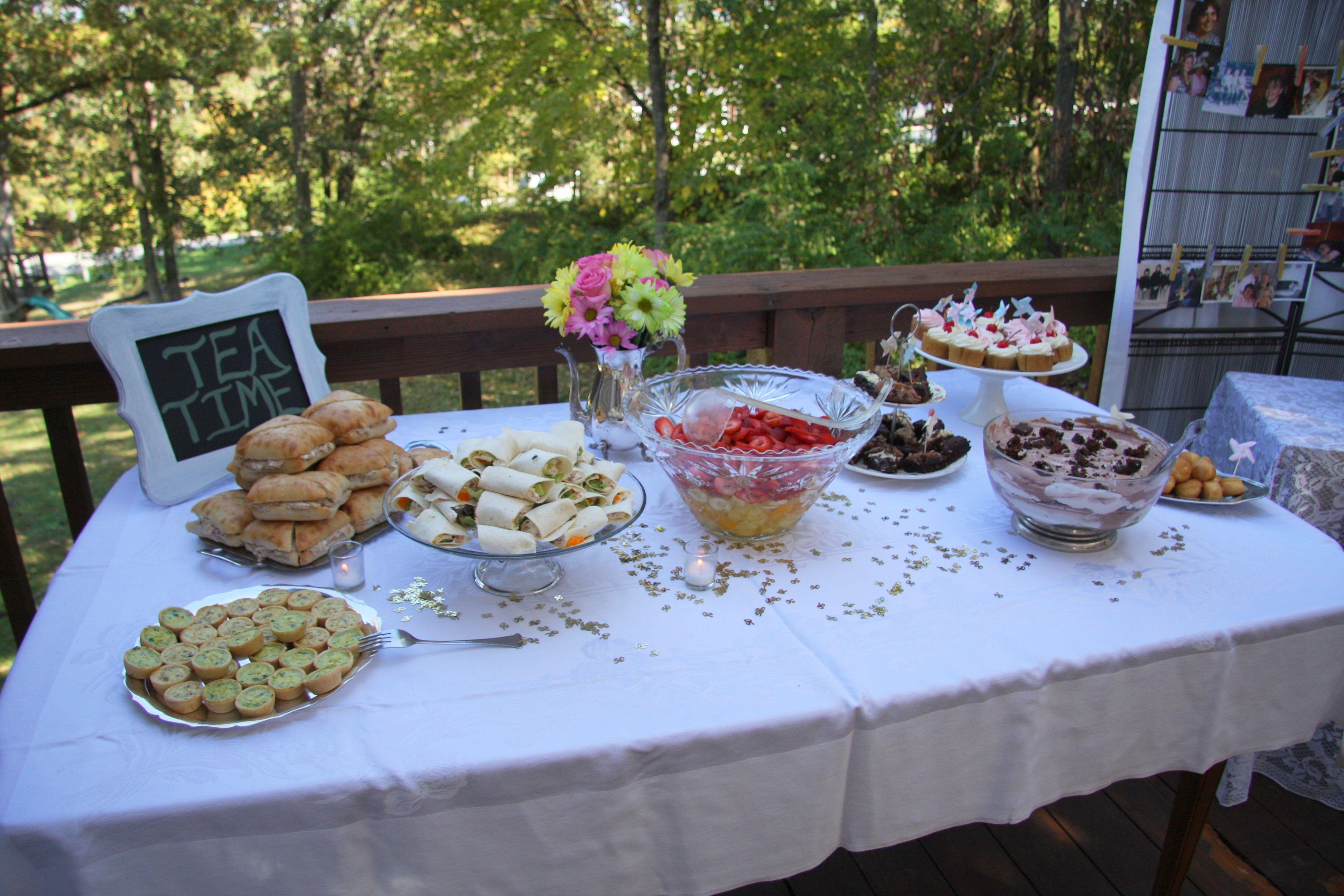 50th Birthday Tea Party Tea Party Birthday Tea Party Tea Time
