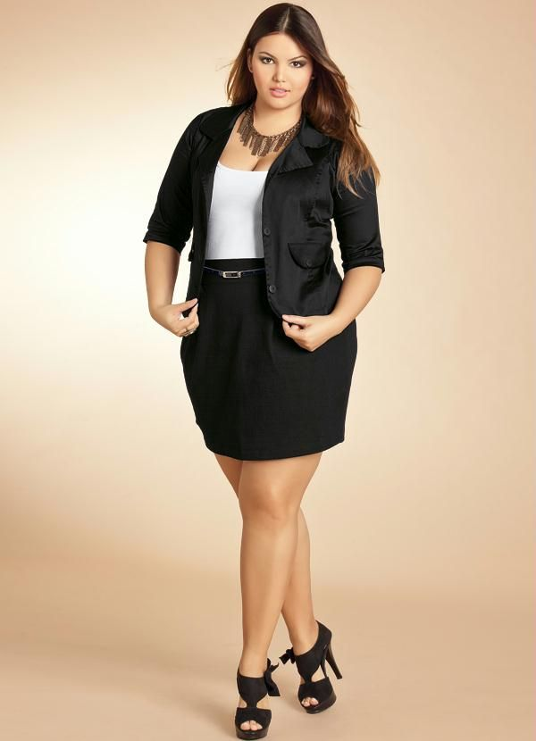c2be4b628 blazer plus size … | Sexiest with curves!!!! em 2019…