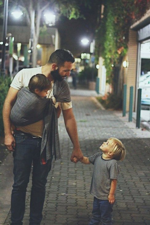 20 pictures that a man with children is cool
