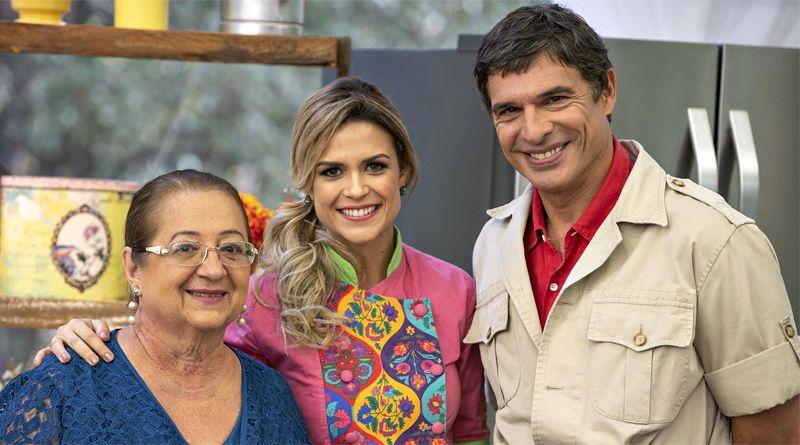 Bake Off Brasil Deste Sabado Recebe A Visita De Dona Iaia Cozinheiros Em Acao Brasil E Batalha Dos Confeiteiros