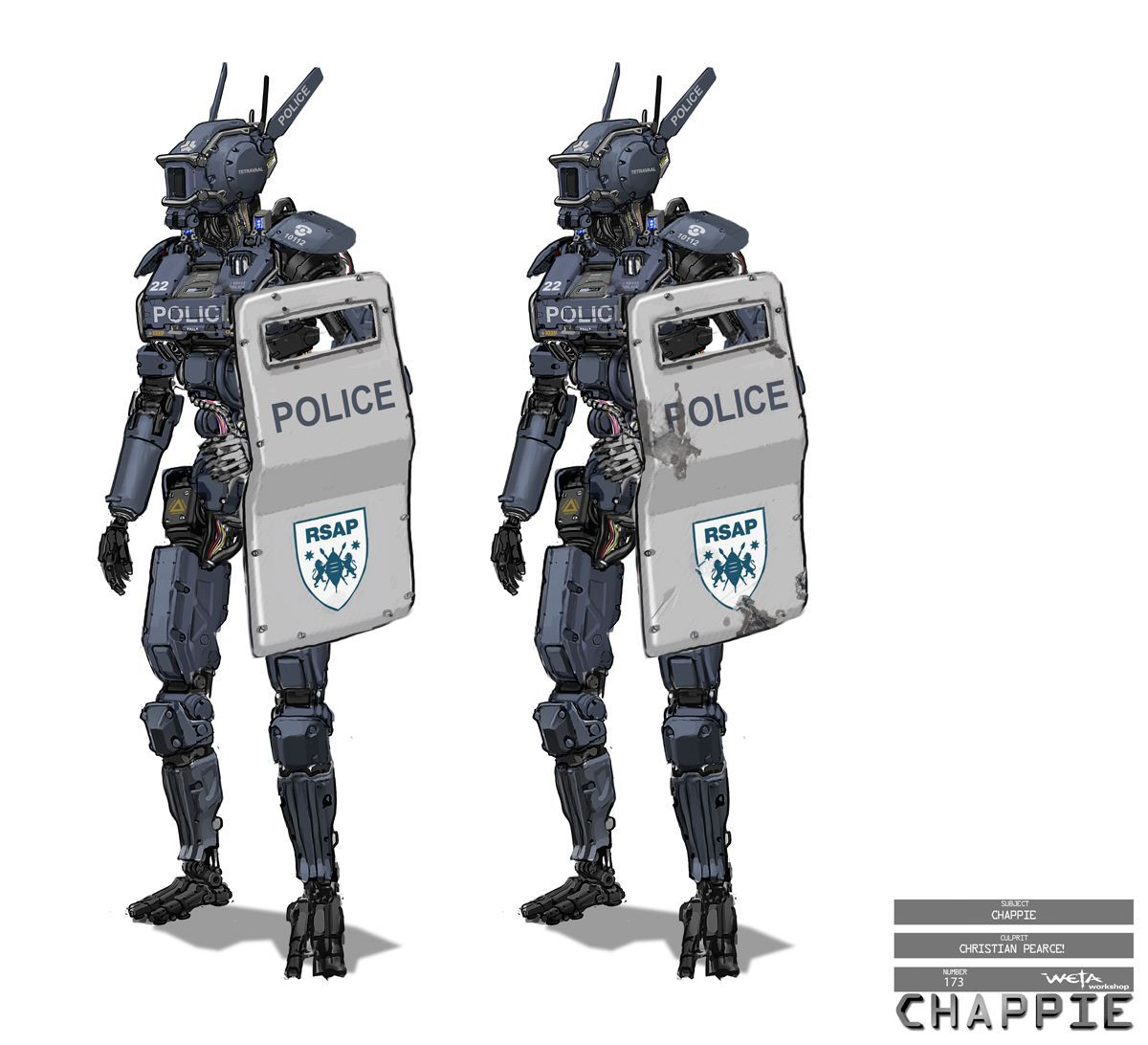 The practical and digital tech behind Chappie | fxguide | Chappie ...