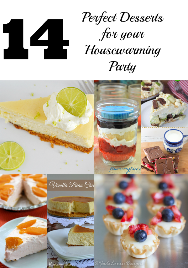 Housewarming Party Desserts