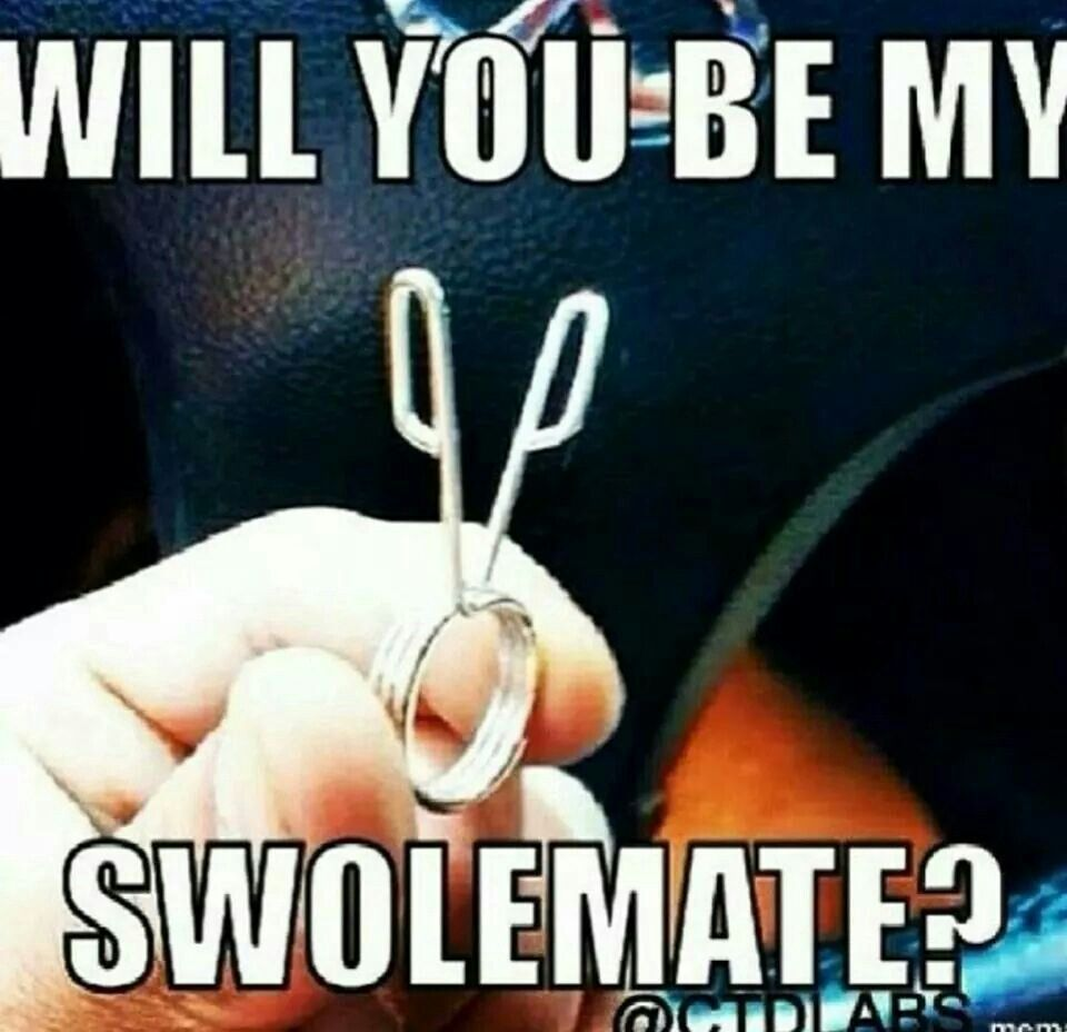 """Will you be my swolemate?"" #Fitness #Humour -  ""Will you be my swolemate?"" #Fitness #Humour  - #chi..."