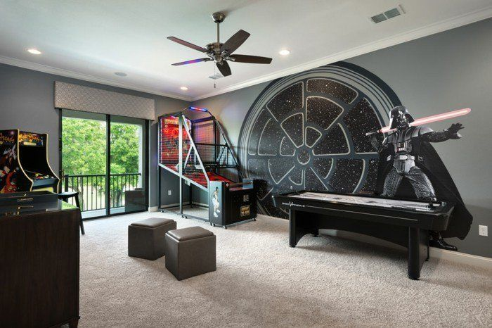 la chambre star wars faire une d coration l 39 aide de votre imagination kids. Black Bedroom Furniture Sets. Home Design Ideas