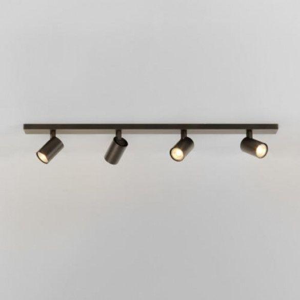 Astro Lighting Ascoli Four Bar Spot Bronze Plafondlamp Verlichting Keuken Plafondverlichting
