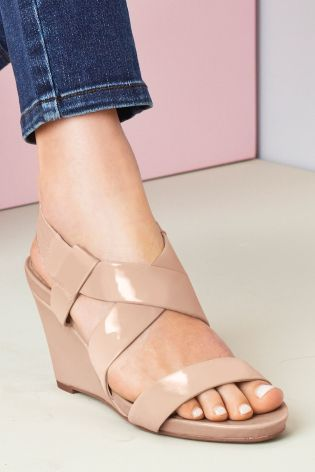 8c1f566d97d Buy Forever Comfort Elastic Wedge Sandals from the Next UK online shop