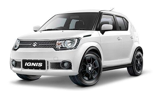 Suzuki Ignis Putih Mobil