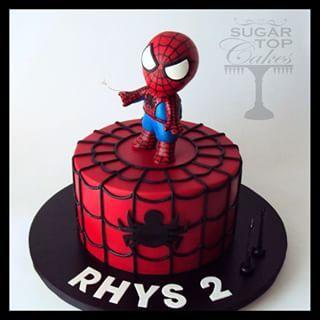 spiderman fondant cakes Google Search Cute fondant figurines