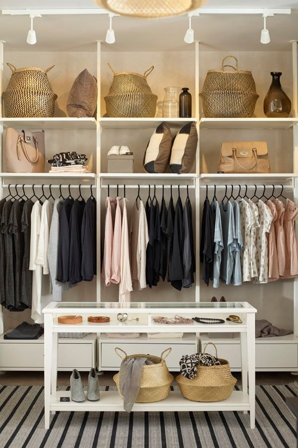 The ikea elvarli system is the perfect clothing storage for Elvarli ikea hack