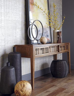 About Us Console Table Interior Home Decor