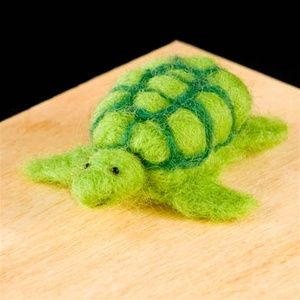 WoolPets are designed for needle felting beginners,