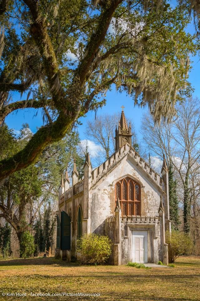 St. Mary's Episcopal Chapel at Laurel Hill Plantation just