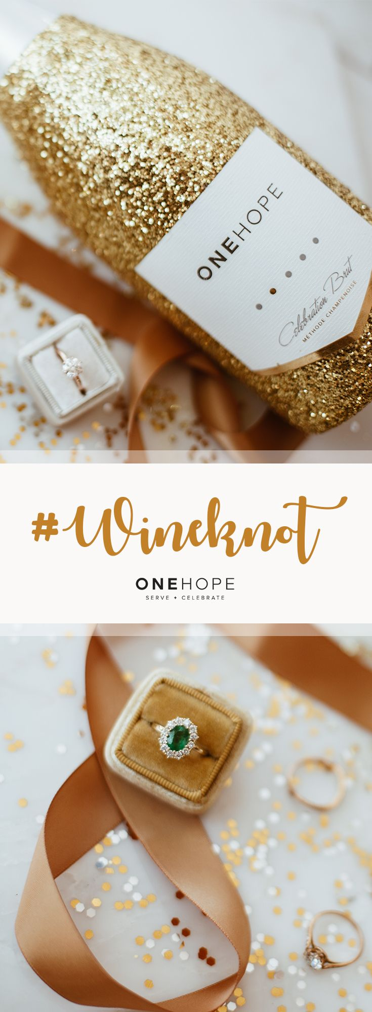 Give love and inspire this wedding season. Every bottle of ONEHOPE ...