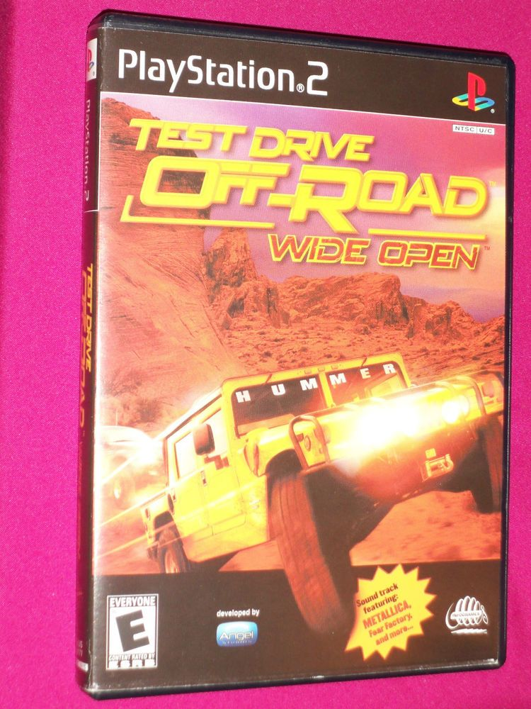 Test Drive Off-Road Wide Open - PS2 Racing Game - Sony PlayStation 2 - 2001 | eBay