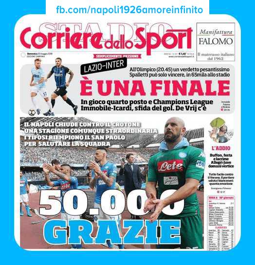 Forza Napoli Sempre Sport