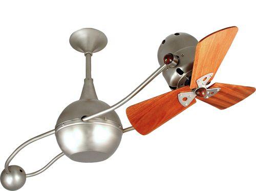 Mariah 39 Inch 3 Blade Bronze Ceiling Fan B2k Bz Mtl
