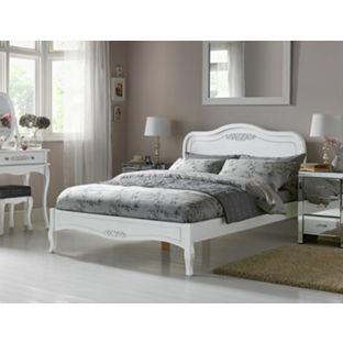 Sophia Double Bed Frame White At Argos Co Uk Visit