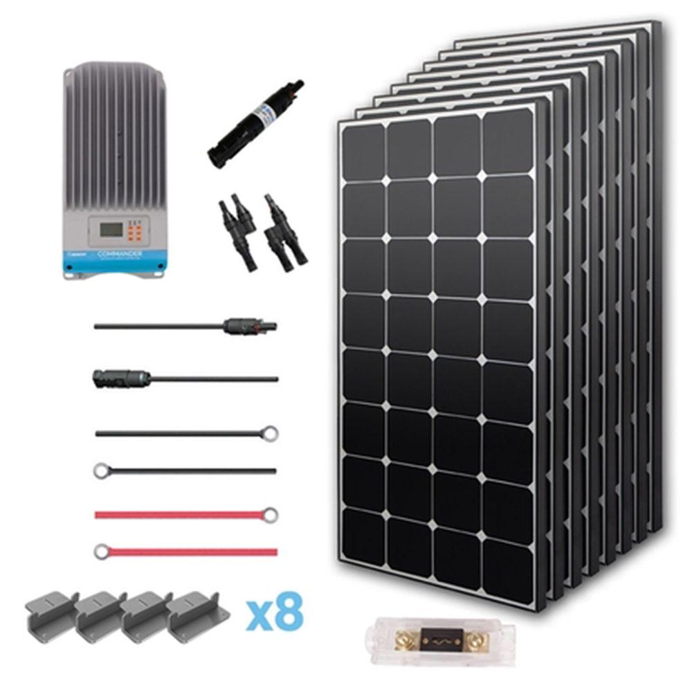 New 800 Watt 24 Volt Solar Premium Kit Solar Panels Solar Panels For Home Solar Energy Panels