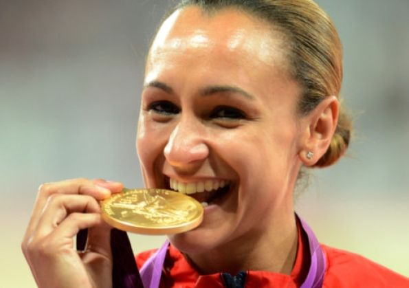 Golden girl: Sheffield's Olympic champion Jessica Ennis. Photo: Owen Humphreys/PA Wire.