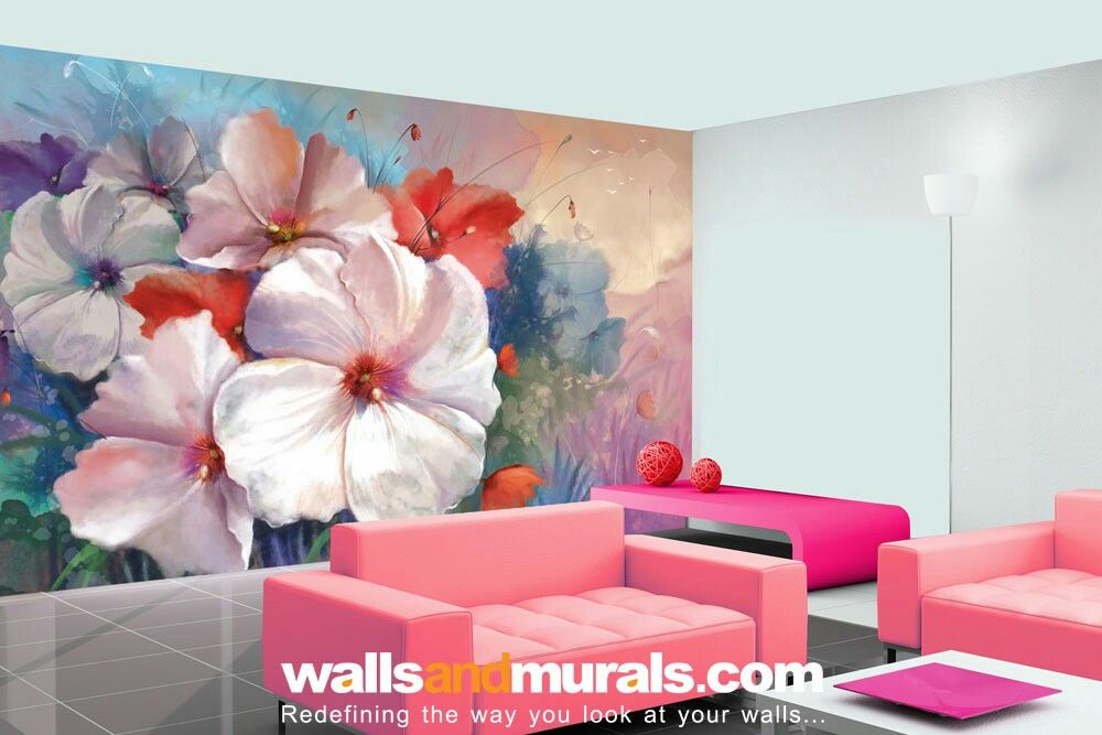 Hibiscus Watercolor Painting Floral Wallpaper | Floral Wallpapers ...
