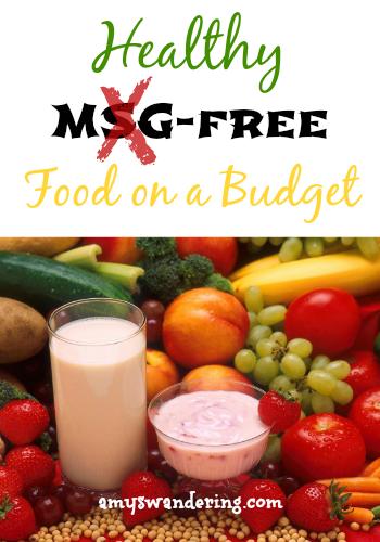 Msg free food