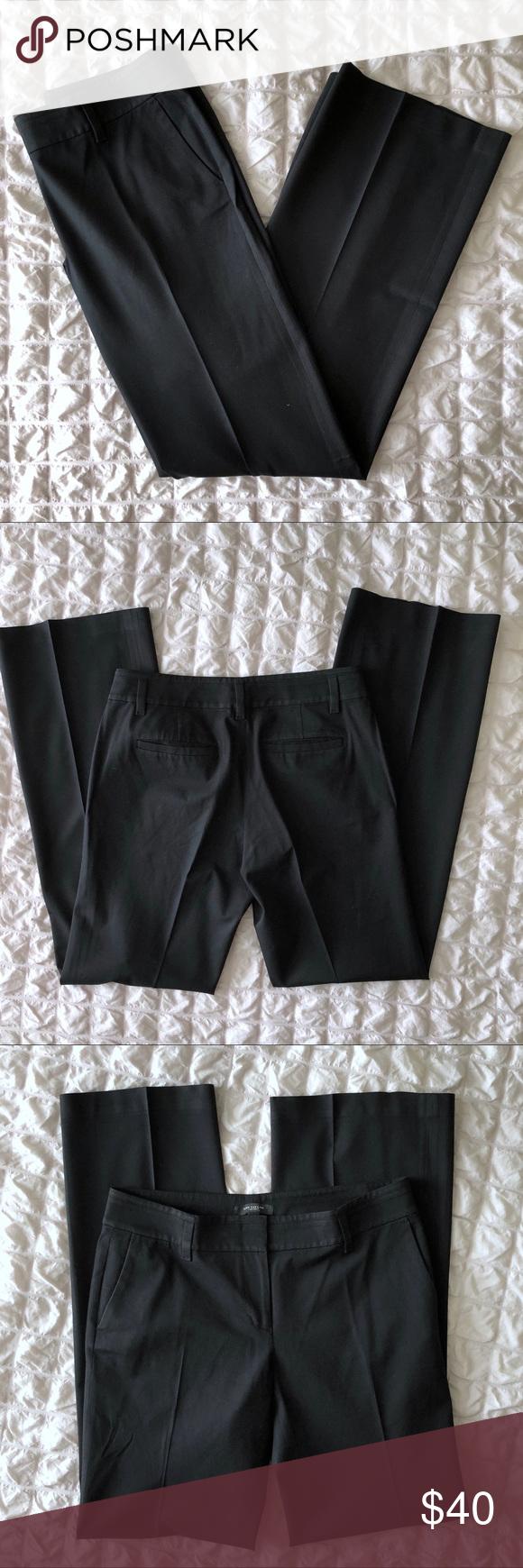 Ann Taylor Black Dress Pants 6 Tall Flattering Fashion Black Dress Pants Clothes Design [ 1740 x 580 Pixel ]