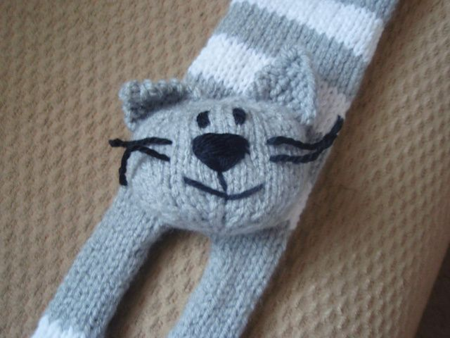 Cat Bookmark Pattern By Ala Ela Bookmarks Ravelry And Patterns