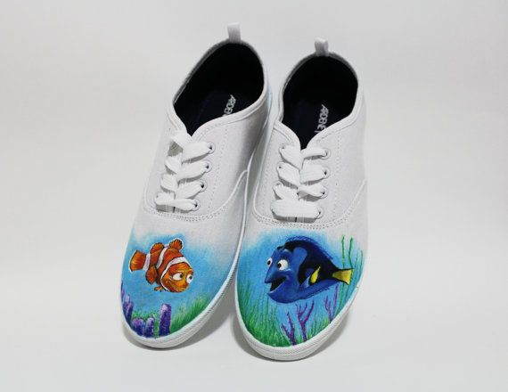 Brand Vans Style Finding Dory Shoes