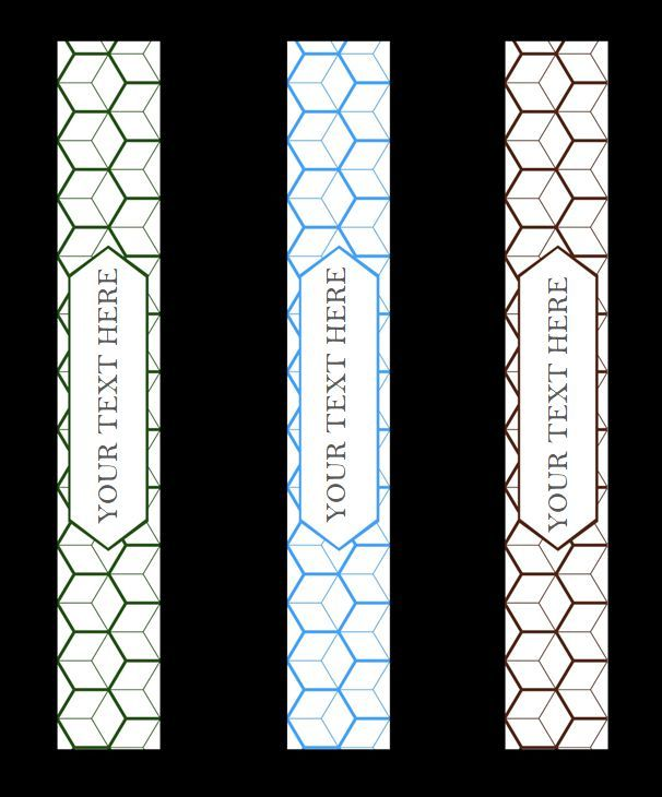 Free Download 56 Binder Spine Template 1 Inch Picture