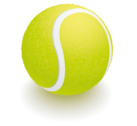 How To Create A Tennis Ball Using Vectorscribe And Adobe Illustrator Astute Graphics Tennis Ball Trigger Point Massage Self Massage