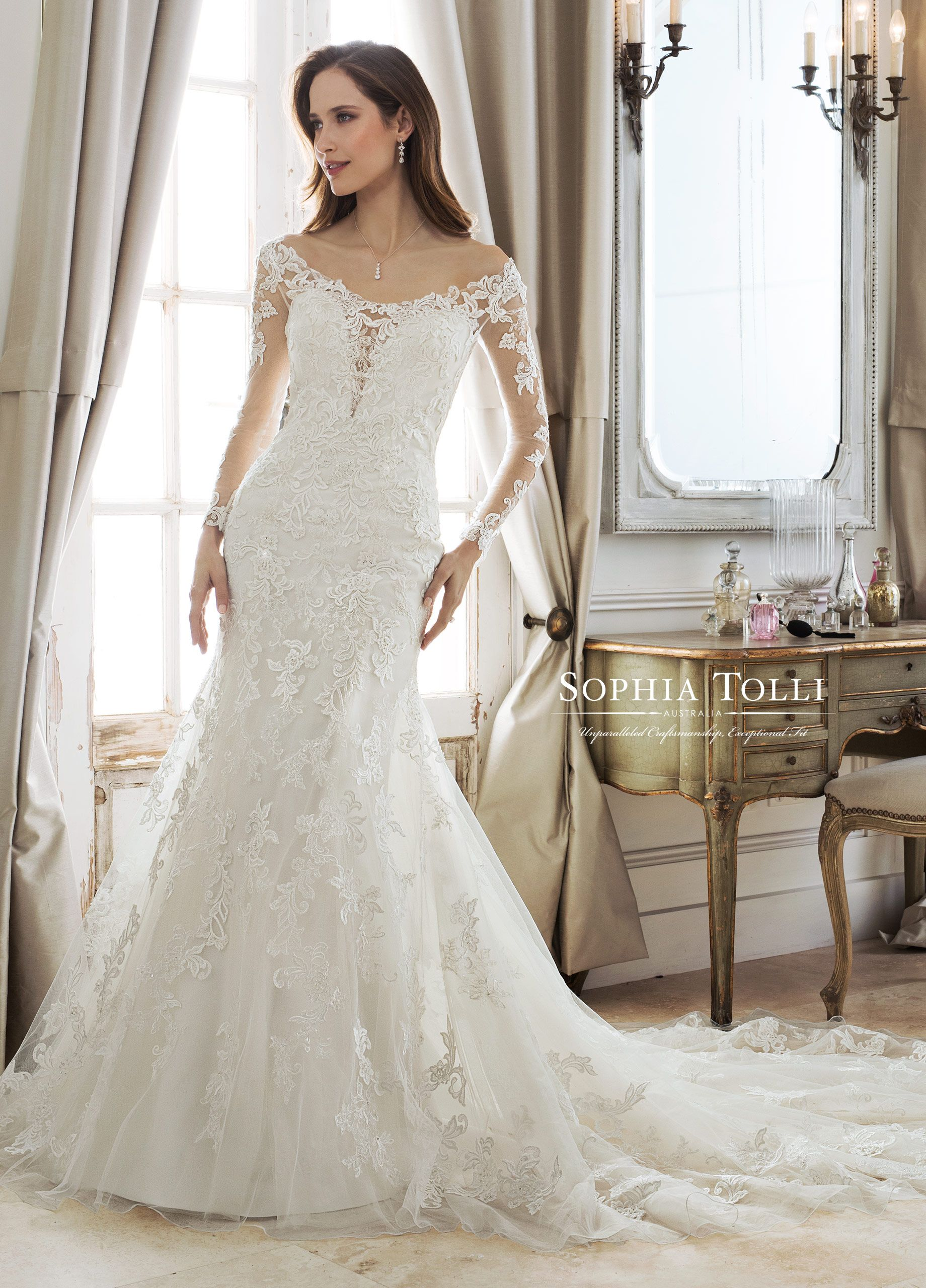 Sophia Tolli Designer Wedding Dresses A Fusion Of Modern Romance And Timeless Elegance And Timeless Romance The Sophia Tolli Australia Collection Is A Celeb Wedding Dresses Wedding Gown Gallery Wedding
