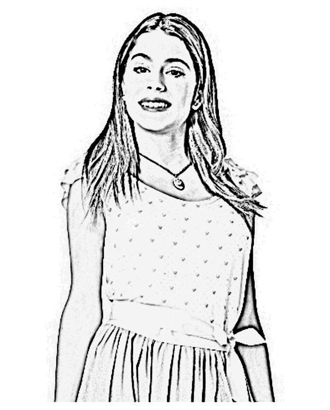 Imagen Violetta En Un Lindo Vestido Dibujos Y Imágenes