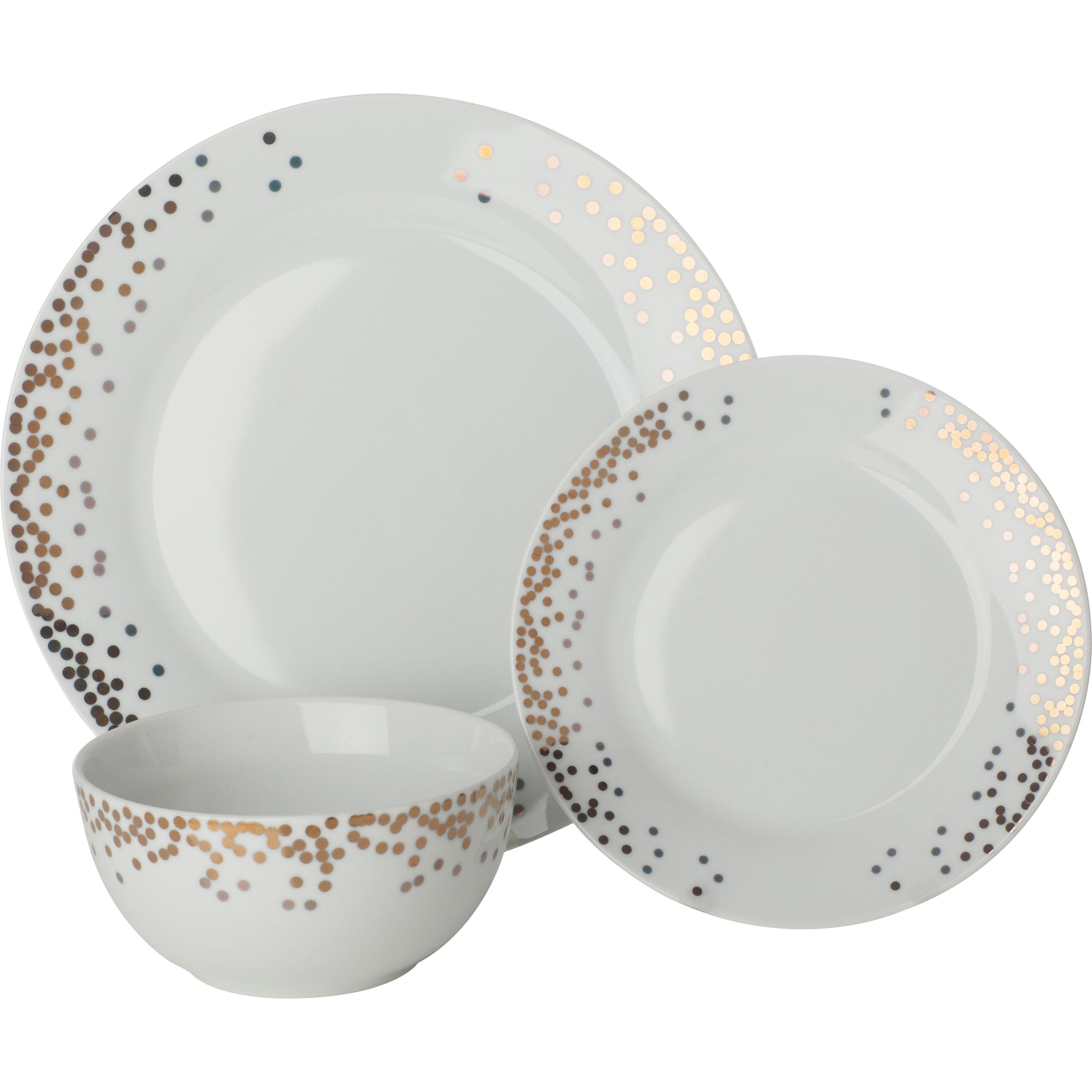 Sabichi Gatsby 12 Piece Dinnerware Set  sc 1 st  Pinterest & Sabichi Gatsby 12 Piece Dinnerware Set | dinner sets | Pinterest ...