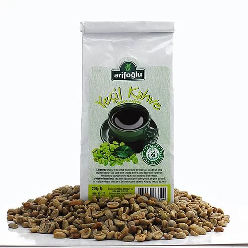 Arifoglu Green Coffee Beans 200gr 7 Oz Grandbazaarshopping Com In 2021 Green Coffee Bean Green Coffee Gourmet Recipes