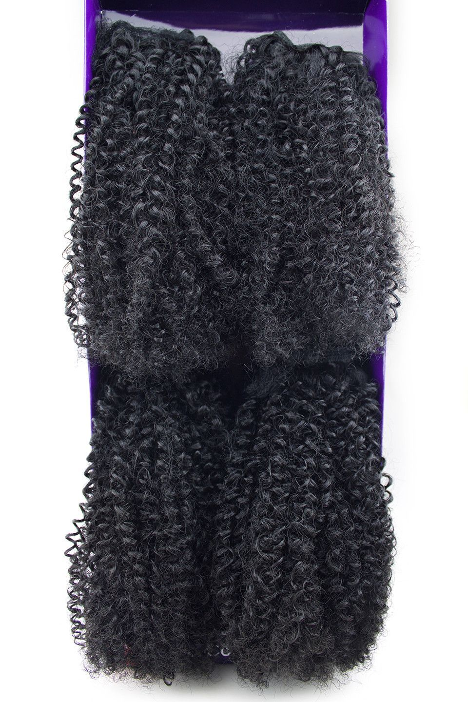 Outre purple pack big beautiful hair c coily human hair blend weave